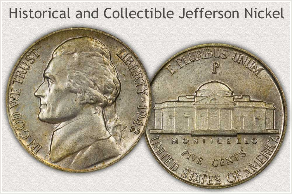 A Example of a Collectible Jefferson Nickel