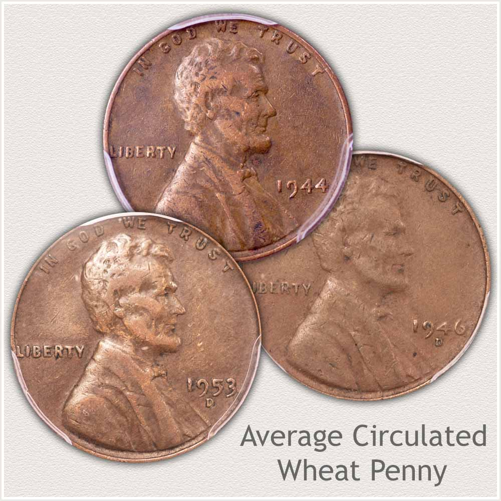 Average Condition Lincoln Penny