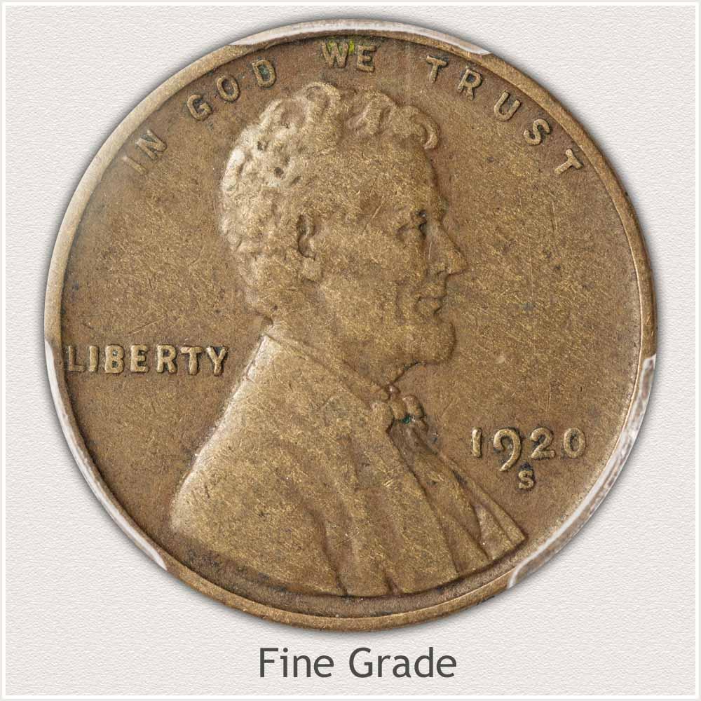 Fine Grade Wheat Penny