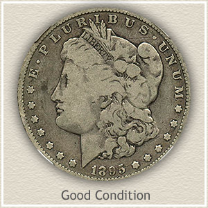 Morgan Silver Dollar Good Condition