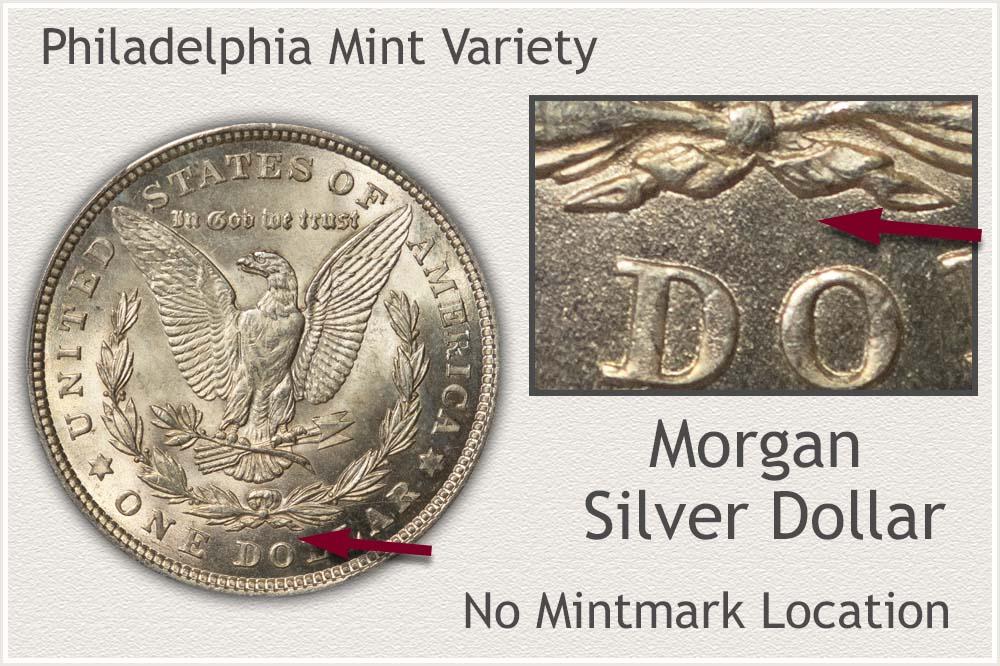 Philadelphia Mint Morgan Silver Dollar Variety