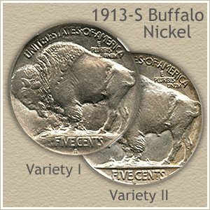 1913-S Buffalo Nickel