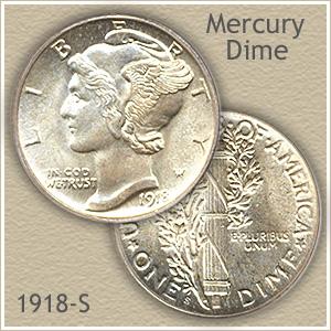 1918-S Mercury Dime