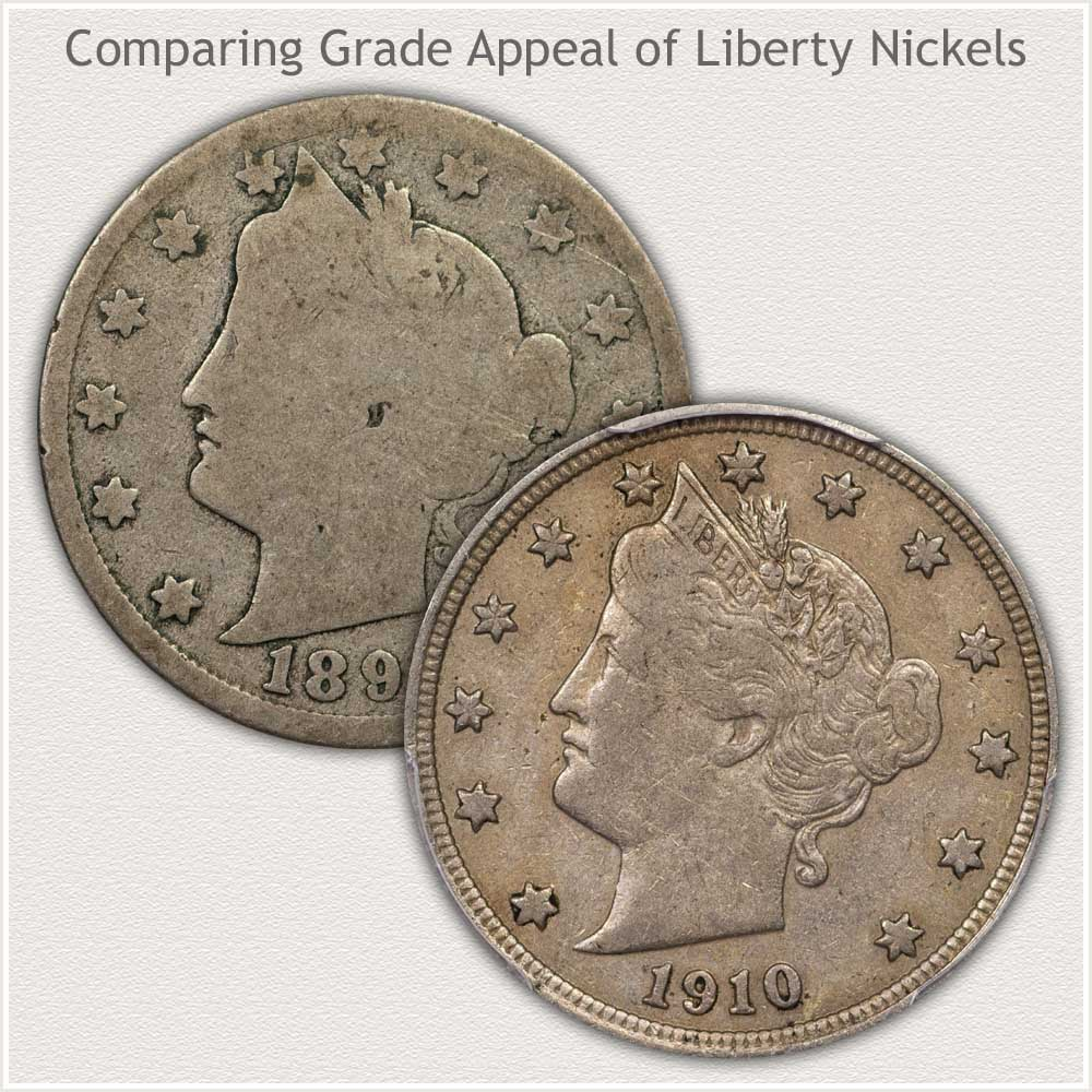 Nickels in Low and High Grades