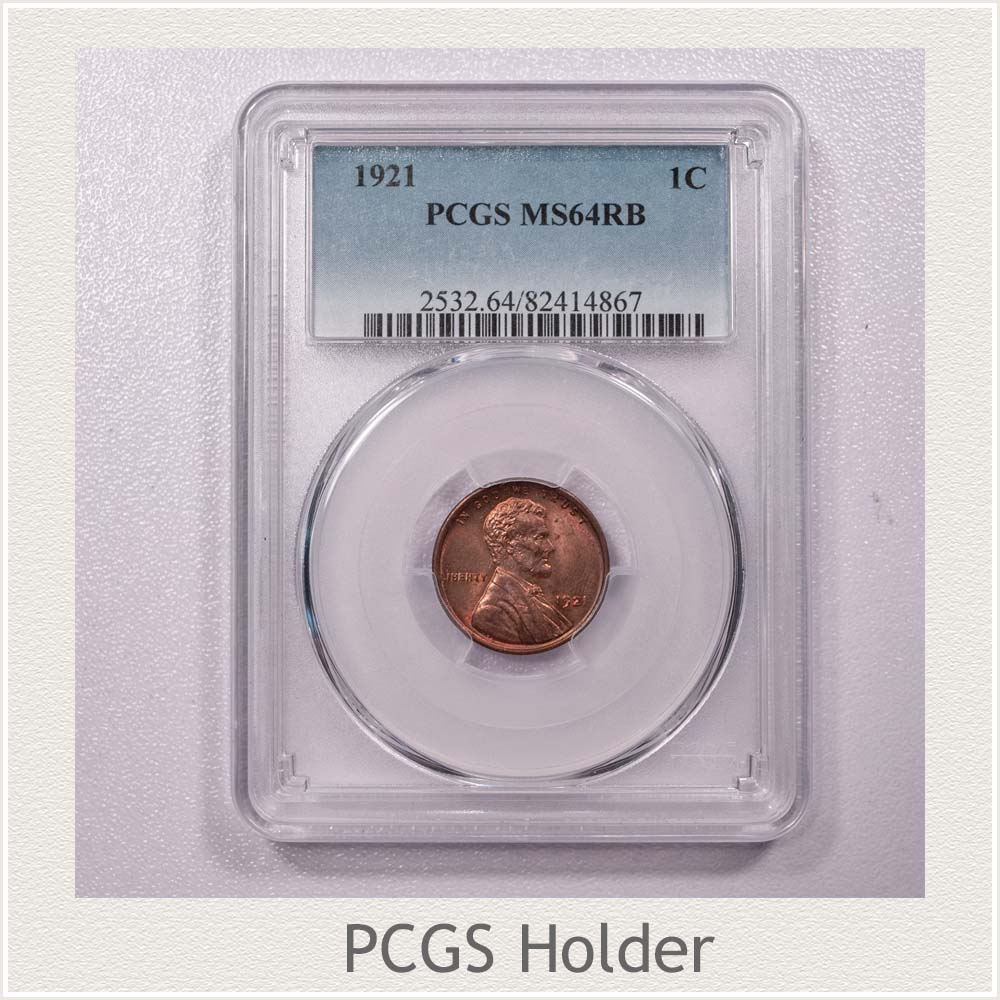 Wheat Penny in a PCGS Holder