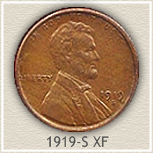 Lincoln Penny Extremely Fine Condition