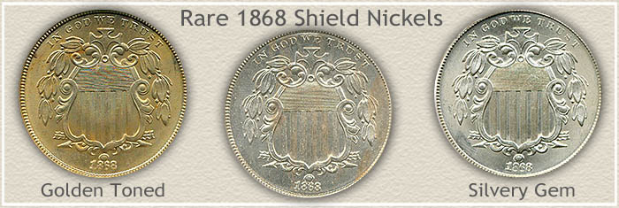 Rare 1868 Nickel Value