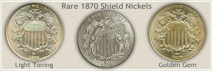 Rare 1870 Nickel Value