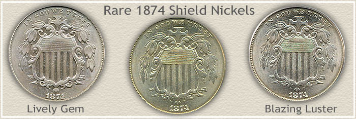 Rare 1874 Nickel Value