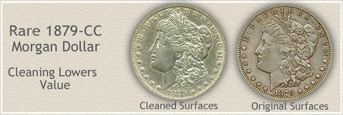 Rare 1879-CC Morgan Silver Dollar