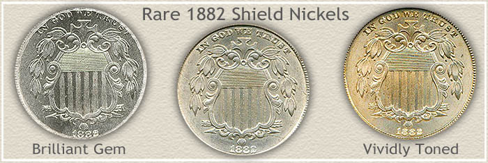 Rare 1882 Nickel Value