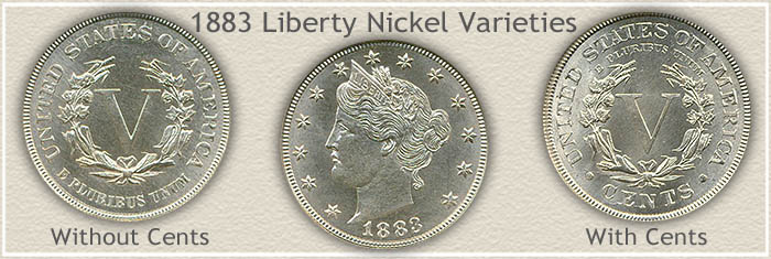 1883 Liberty Nickel Varieties