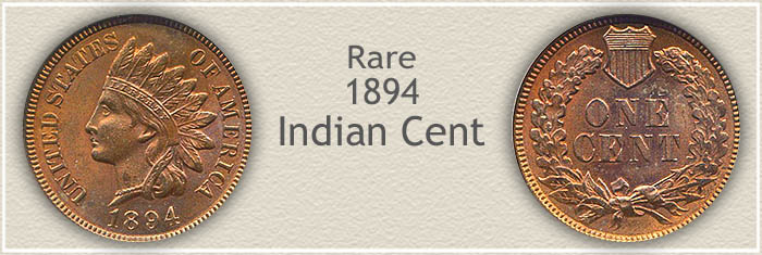 Rare 1894 Indian Penny