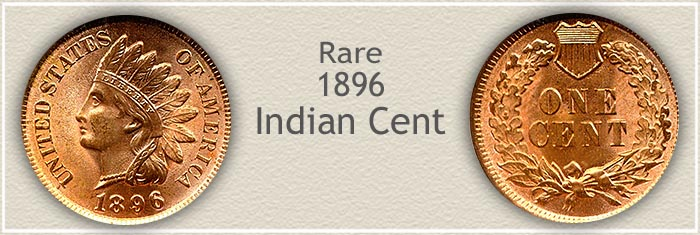 Rare 1896 Indian Penny