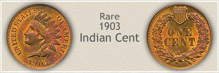 Rare 1903 Indian Penny