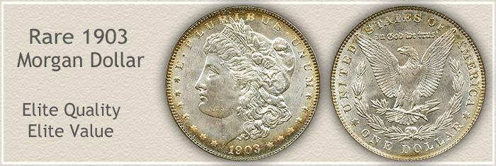 Rare 1903 Morgan Silver Dollar