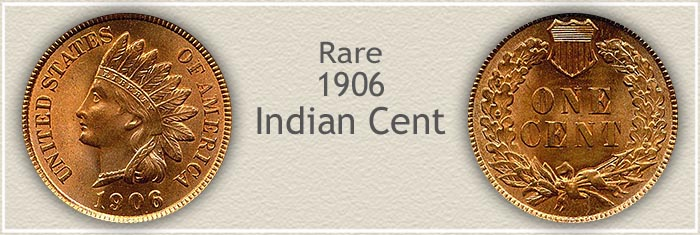 Rare 1906 Indian Penny