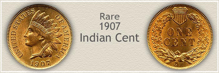 Rare 1907 Indian Penny