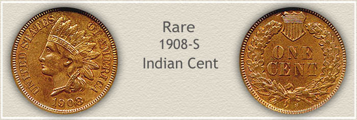 Rare 1908 Indian Penny