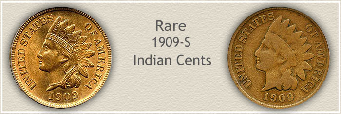 Rare 1909 Indian Penny