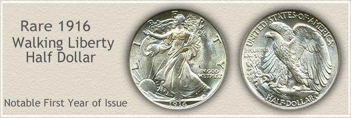 Rare 1916 Half Dollar Value at Auction