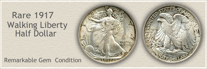 Rare 1917 Half Dollar