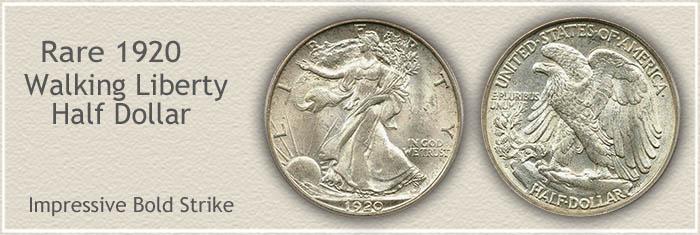 Rare 1920 Half Dollar