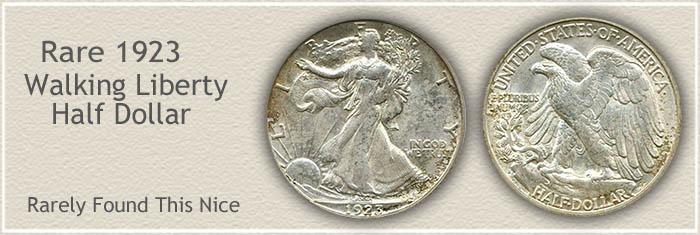 Rare 1923 Half Dollar