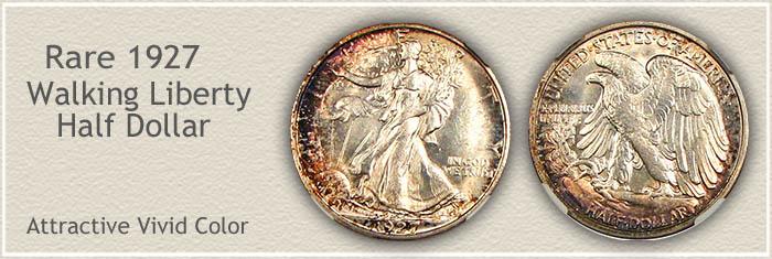 Rare 1927 Half Dollar