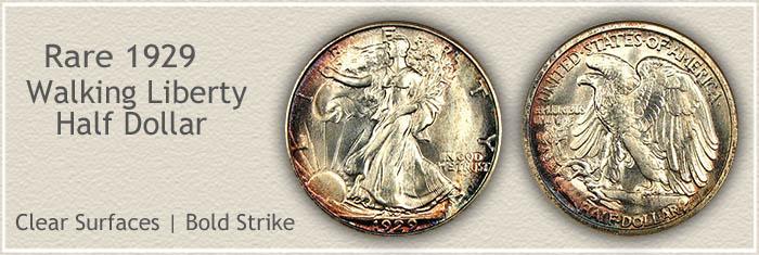 Rare 1929 Half Dollar