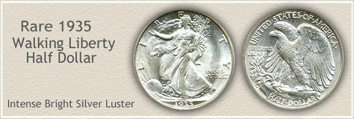 Rare 1935 Half Dollar