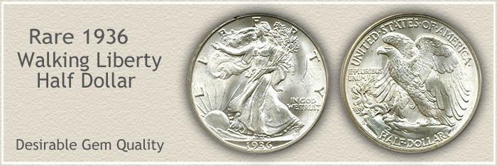 Rare 1936 Half Dollar
