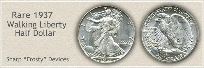 Rare 1937 Half Dollar