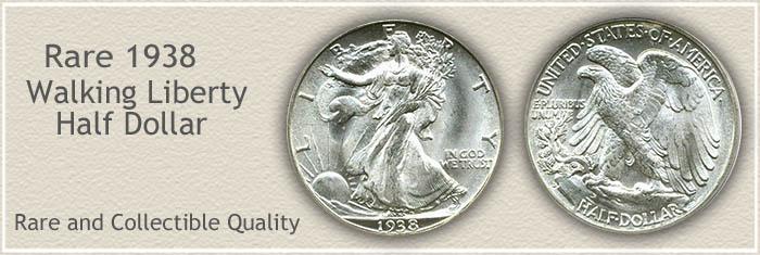Rare 1938 Half Dollar