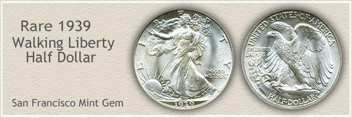 Rare 1939 Half Dollar