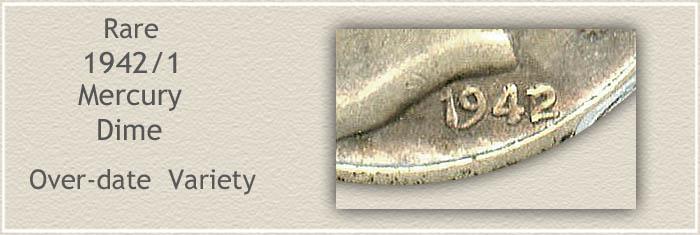 Rare 1943 Mercury Dime