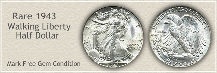 Rare 1943 Half Dollar