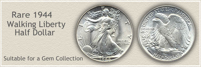 Rare 1944 Half Dollar