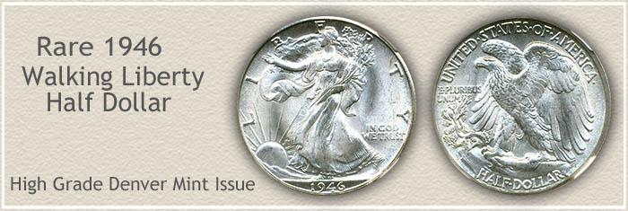 Rare 1946 Half Dollar