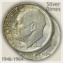 The Silver Years of the Roosevelt Dime