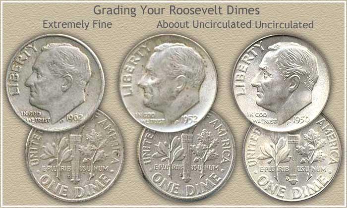 Roosevelt Dime Grading