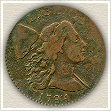 Rare 1794 Large Cent