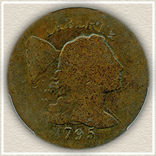 Rare 1795 Half Cent