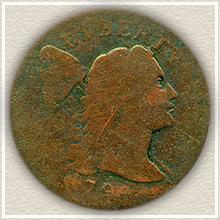 Rare 1796 Large Cent