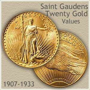 Saint Gaudens Twenty Dollar Gold Coin