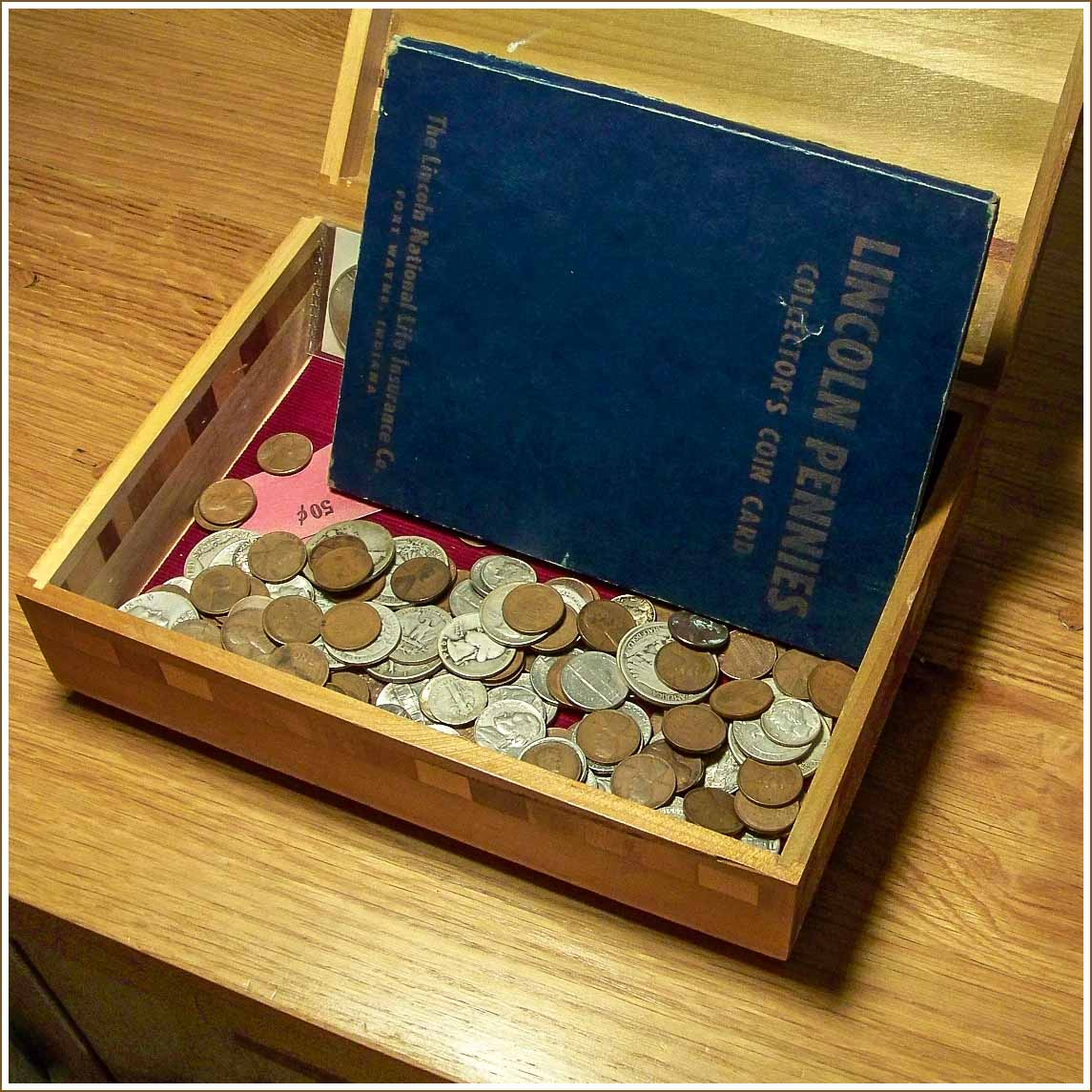Selling Box of Old Coins