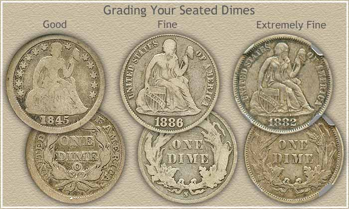 Seated Dimes Value Increasing