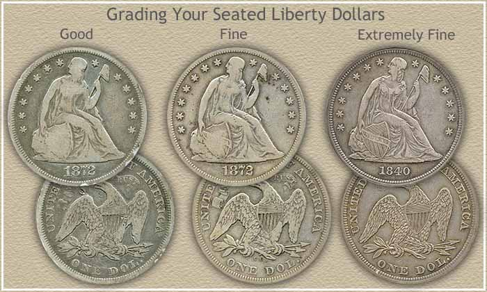 Seated Liberty Dollar Grading