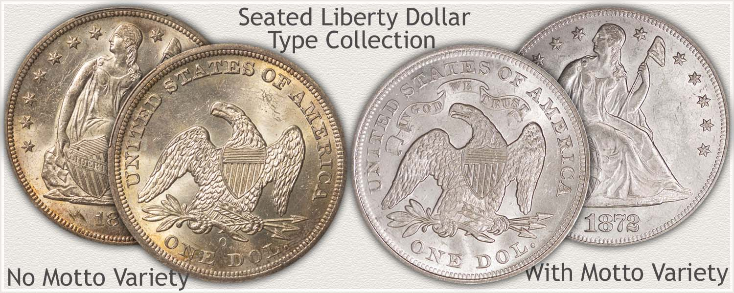 Seated Liberty Silver Dollar Type Collection
