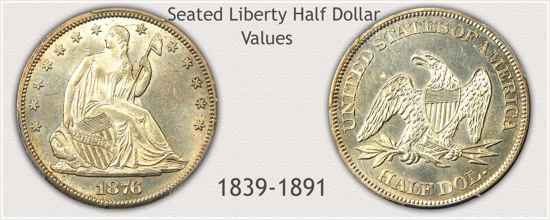 Seated Liberty Half Dollar